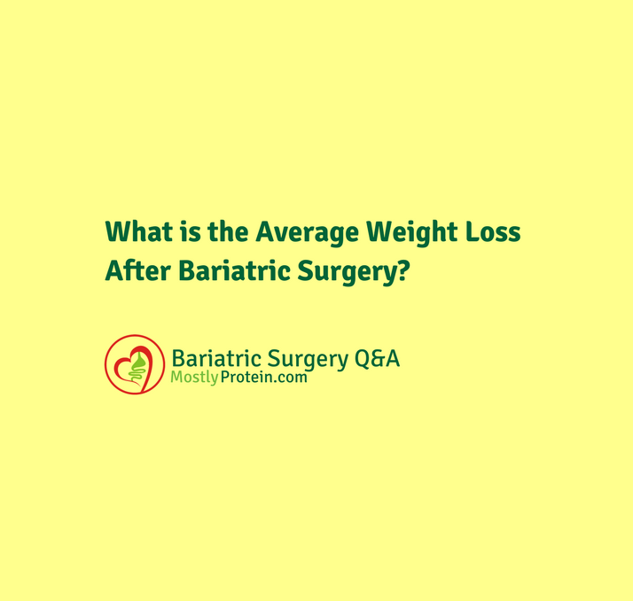 How Much Total Weight Will I Lose After Bariatric Surgery?