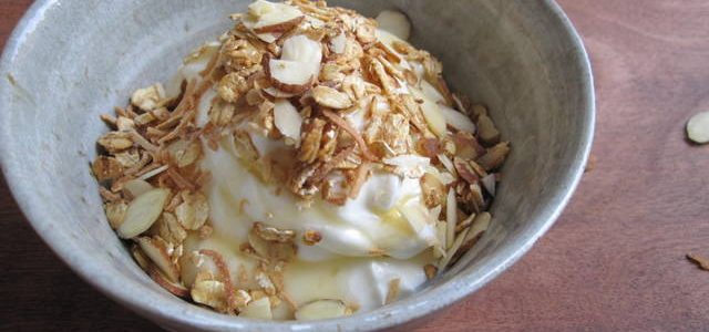 What's For Lunch – Yogurt with Crunch