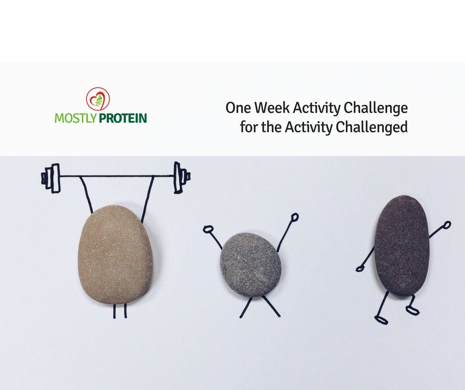 One Week Activity Challenge for the Activity Challenged