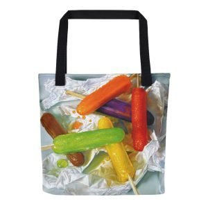 Colorful Carryall Tote Bag - The Lisa Ober Collection