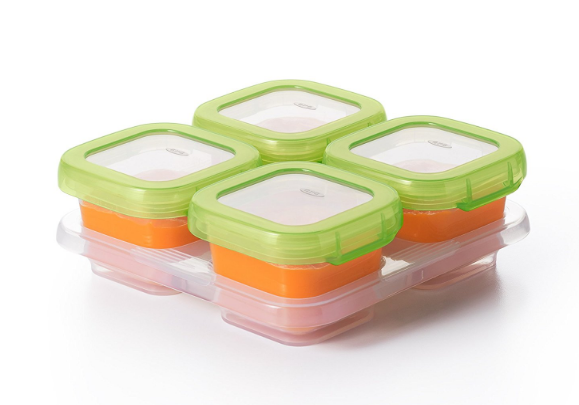 Food Prep Essentials – Four Ounce Containers with Locking Lids